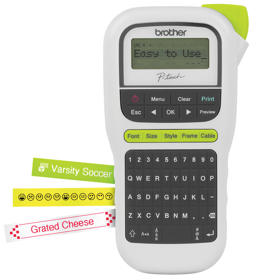 Brother P-Touch Durable Label Maker PTH110 - Out Of Ink
