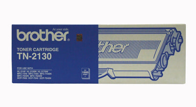 Brother TN-2130 Toner Cartridge - 1,500 pages - Out Of Ink