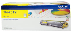 Brother TN-251 Yellow Toner Cartridge - 1,400 pages - Out Of Ink
