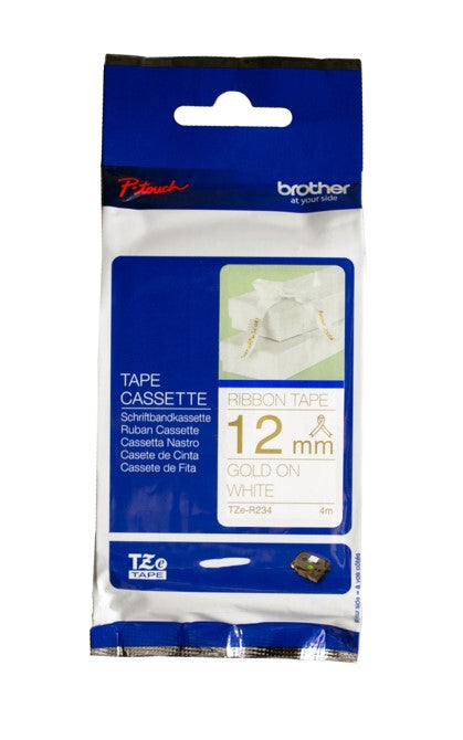 Brother TZe-R234 Ribbon Tape - Out Of Ink
