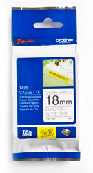 Brother TZeS241 Labelling Tape - Out Of Ink