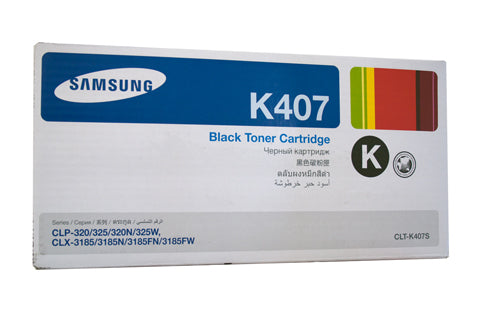 Samsung CLP-325 / CLX-3185 / CLX-3180 Black Toner Cartridge - 1,500 pages @ 5% - Out Of Ink