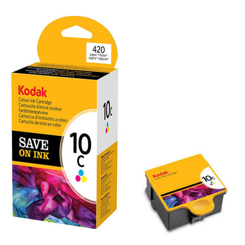 Kodak #10C Colour Ink Cart - Out Of Ink