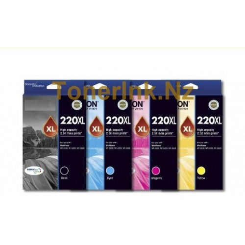 Epson 220 4 HY Ink Value Pack - Out Of Ink