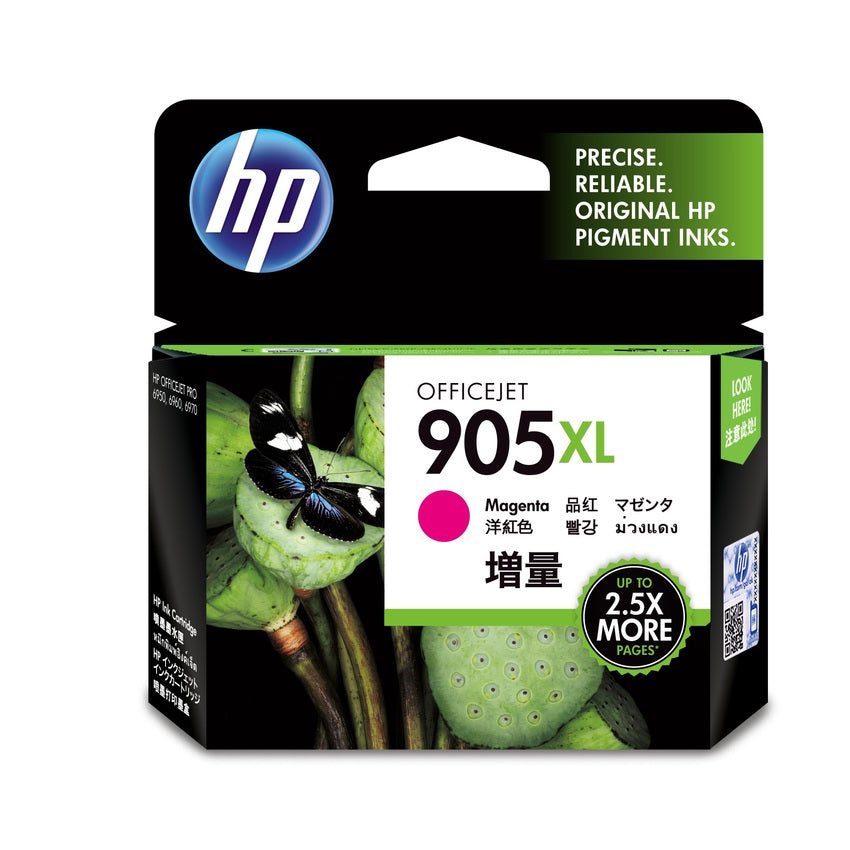HP #905XL Magenta Ink T6M09AA - Out Of Ink