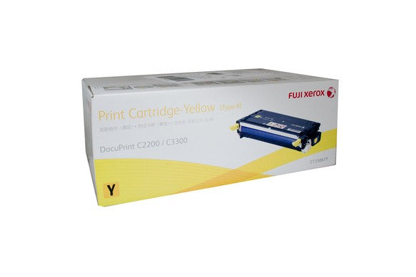 Xerox DocuPrint C2200 Yellow Toner Cartridge - 9,000 pages - Out Of Ink