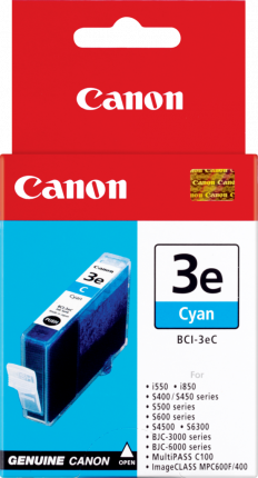 Canon BCI-3eC Cyan Ink tank - 280 pages - Out Of Ink