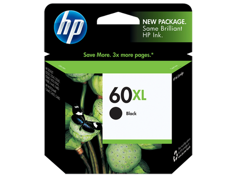HP No.60 Black XL ink Cartridge - 600 pages - Out Of Ink
