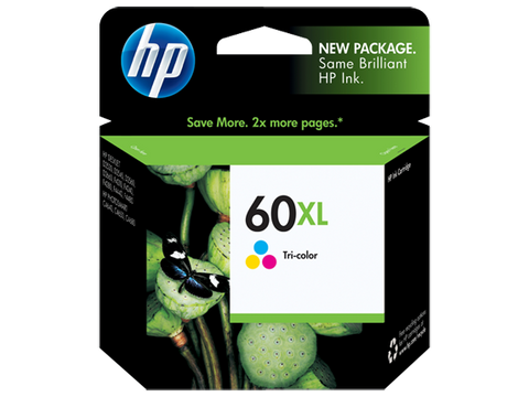 HP No.60 Colour XL ink Cartridge - 440 pages - Out Of Ink