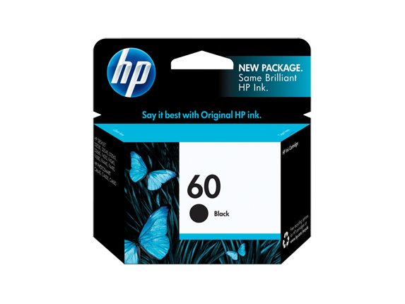 HP No.60 Black ink Cartridge - 200 pages - Out Of Ink