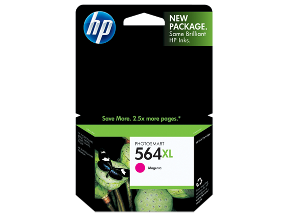 HP No.564XL Magenta Ink Cartridge - 750 pages - Out Of Ink