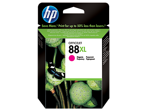 HP No.88XL Magenta Ink Cartridge - 1,980 pages - Out Of Ink