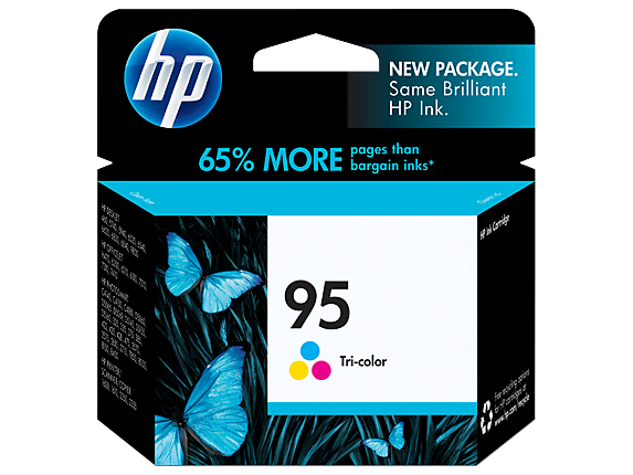 HP No.95 Colour Ink Cartridge - 7ml - 260 pages - Out Of Ink