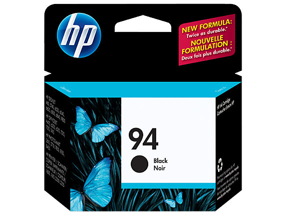 HP No.94 Black Ink Cartridge - 11ml - 450 pages - Out Of Ink