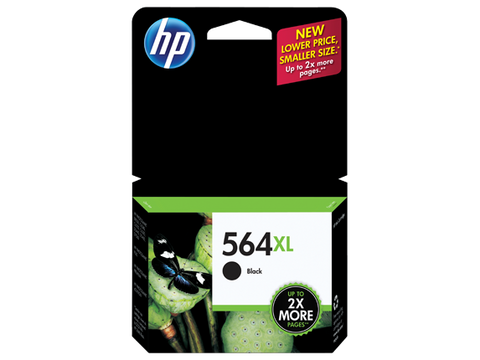 HP No.564XL Black Ink Cartridge - 550 pages - Out Of Ink