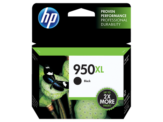 HP No.950XL Black Ink Cartridge - Out Of Ink