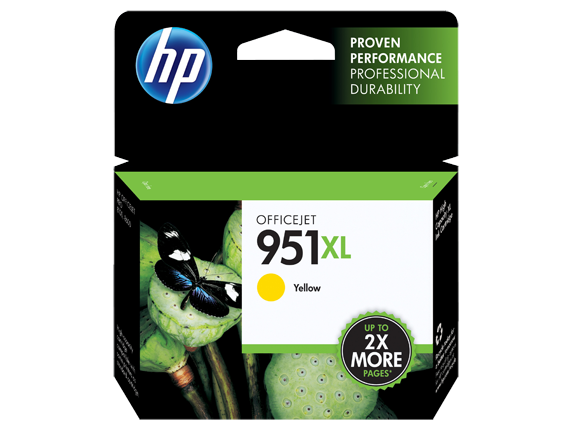 HP No.951XL Yellow Ink Cartridge - Out Of Ink
