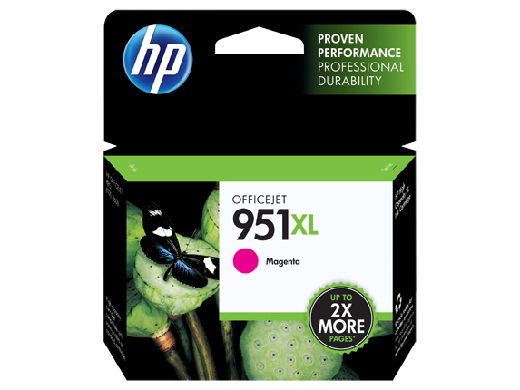 HP No.951XL Magenta Ink Cartridge - Out Of Ink