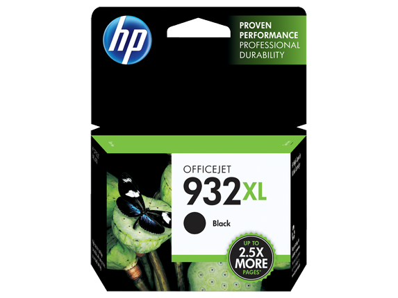 HP No.932XL Black High Yield Ink Cartridge - Out Of Ink