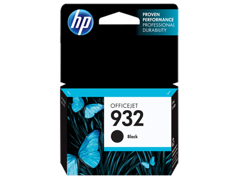 HP No.932 Black Ink Cartridge - - Out Of Ink