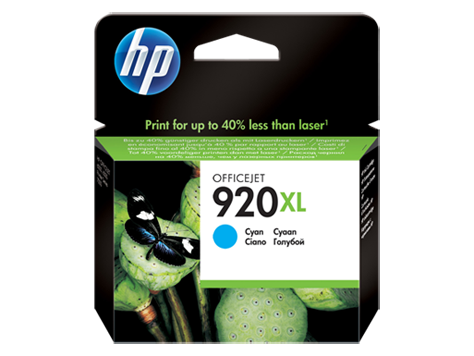 HP No.920XL Cyan High Yield Ink Cartridge - 700 pages - Out Of Ink