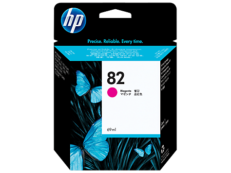 HP No.82 Magenta Ink Cartridge - 3,200 pages - Out Of Ink