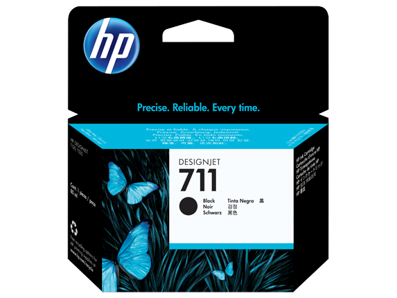 HP #711 80ml Black Ink CZ133A - Out Of Ink