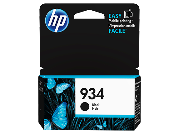 HP #934 Black Ink C2P19AA - Out Of Ink