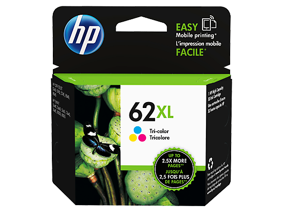 HP #62XL Tri Col Ink C2P07AA - Out Of Ink