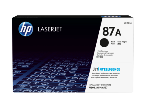 HP #87A Black Toner CF287A - Out Of Ink