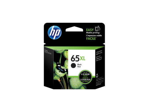 HP #65XL Black Ink N9K04AA - Out Of Ink