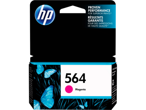 HP No.564 Magenta Ink Cartridge - 300 pages - Out Of Ink