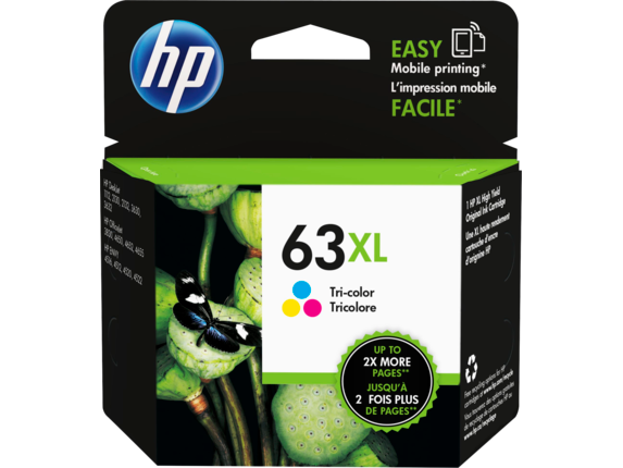 HP #63XL Tri Col Ink F6U63AA - Out Of Ink