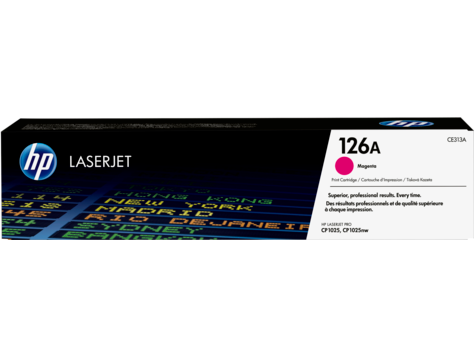 HP CE313A Magenta Toner Cartridge - 1,000 pages - Out Of Ink