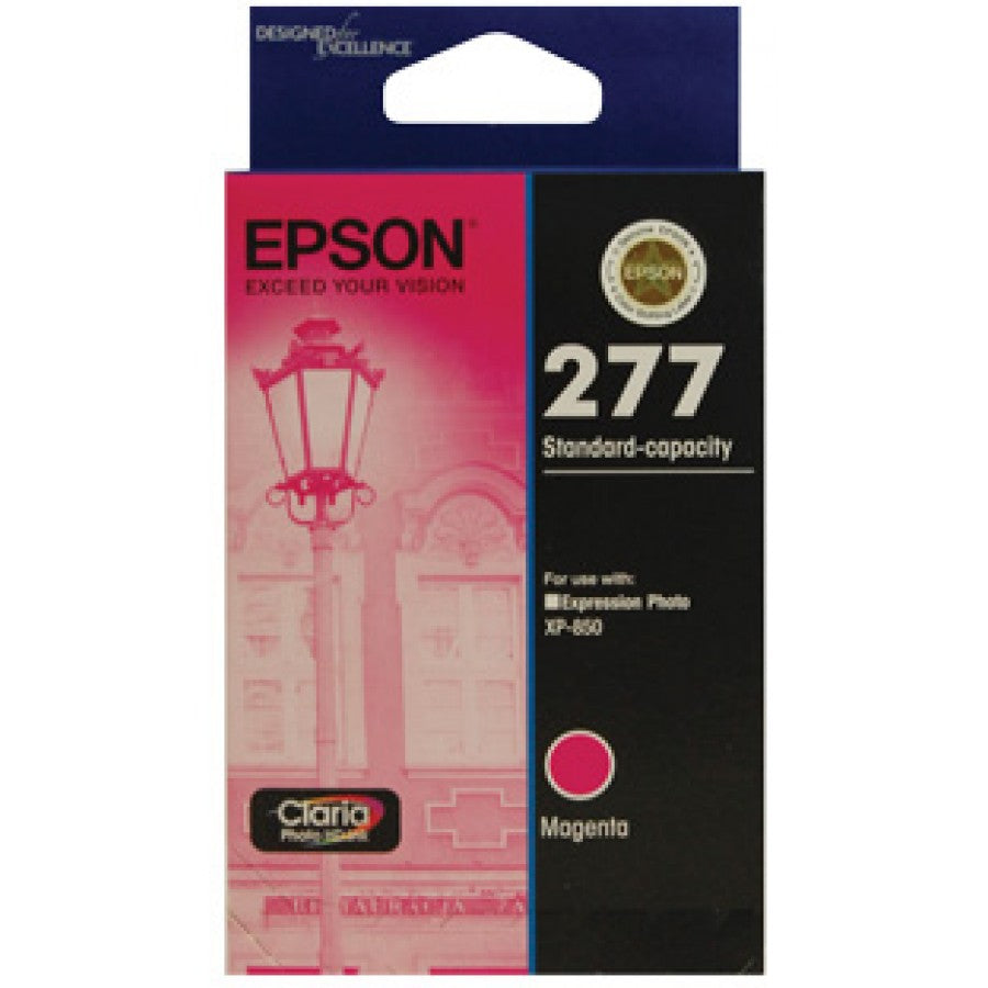Epson 277 Magenta Ink Cart - Out Of Ink