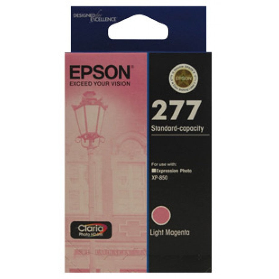 Epson 277 Light Magenta Ink Cart - Out Of Ink