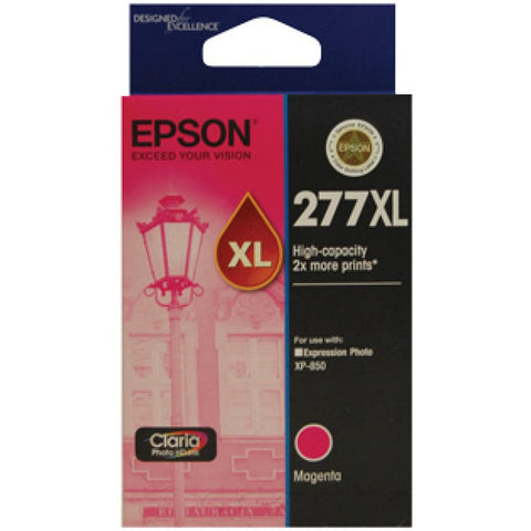 Epson 277 Magenta HY Ink Cart - Out Of Ink