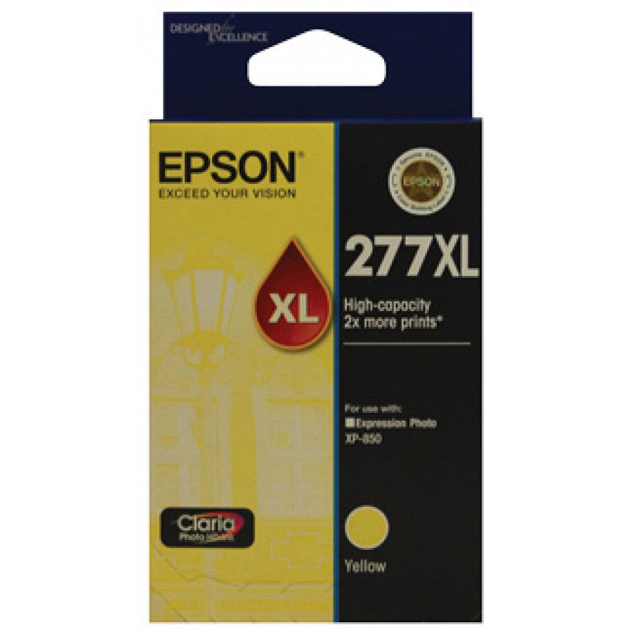 Epson 277 Yellow HY Ink Cart - Out Of Ink