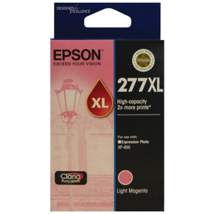 Epson 277 Light Magenta HY Ink Crt - Out Of Ink