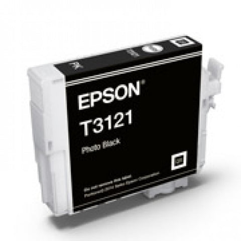 Epson T3121 Photo Black Ink - Out Of Ink