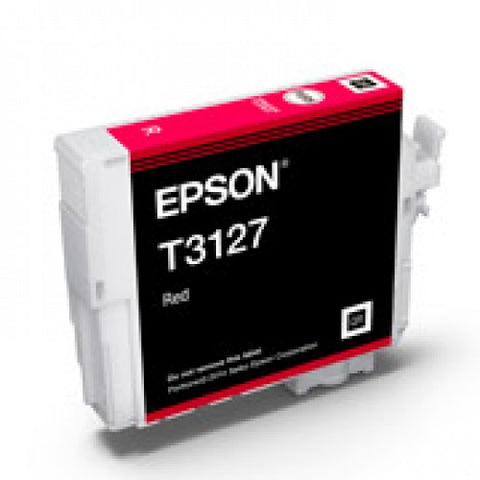 Epson T3127 Red Ink - Out Of Ink