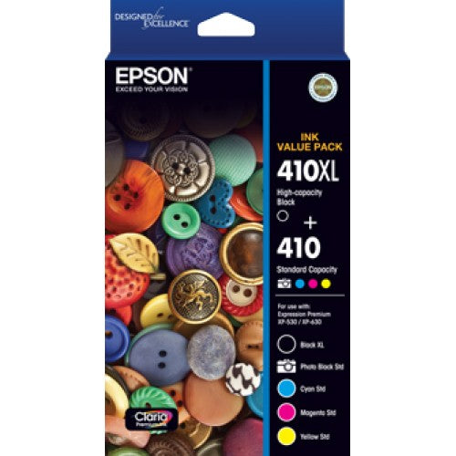 Epson 410 Ink Value Pack - Out Of Ink