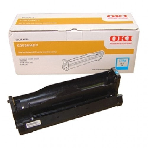 Oki C3530MFP Cyan Drum Unit - 15,000 pages - Out Of Ink