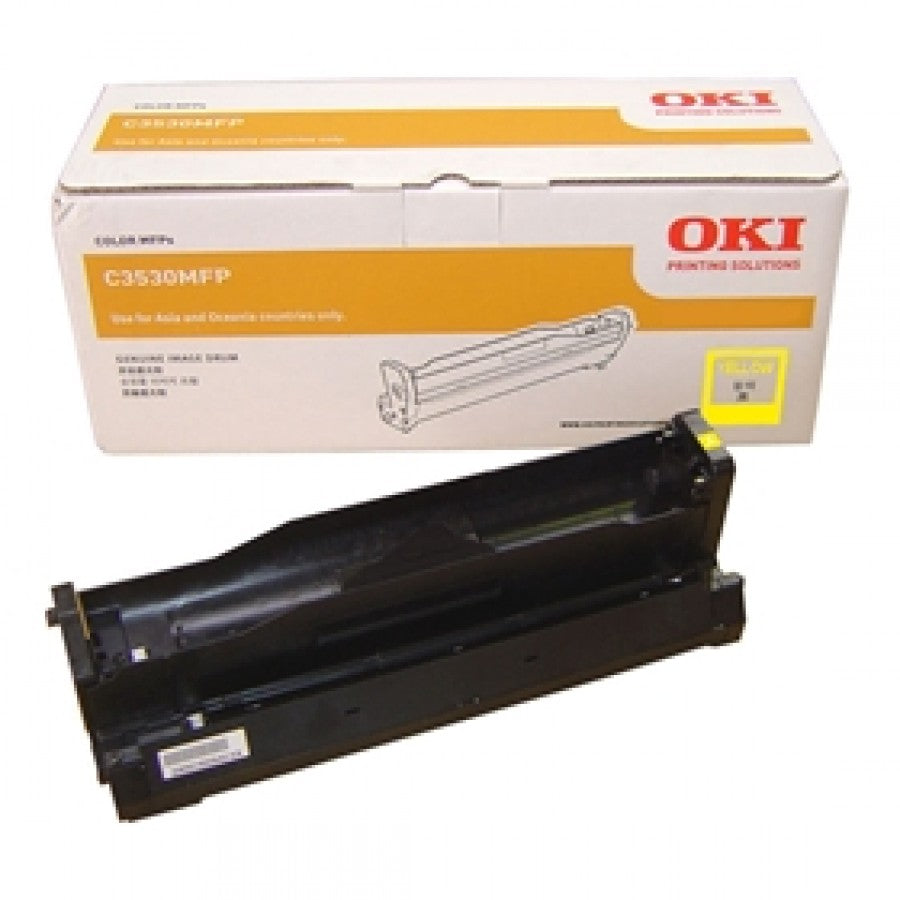 Oki C3530MFP Yellow Drum Unit - 15,000 pages - Out Of Ink