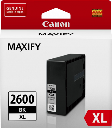 Canon PGI2600XL Black Ink Tank - Out Of Ink