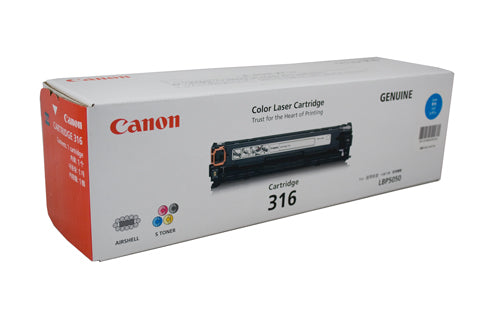 Canon LBP 5050N Cyan Toner Cartridge - 1,500 Pages - Out Of Ink