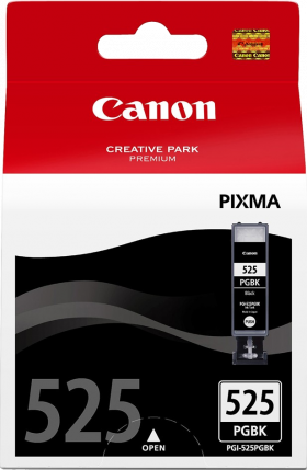 Canon PGI-525K Black Ink Tank - 311 pages - Out Of Ink