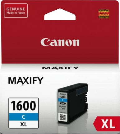 Canon PGI1600XL Cyan Ink Tank - Out Of Ink