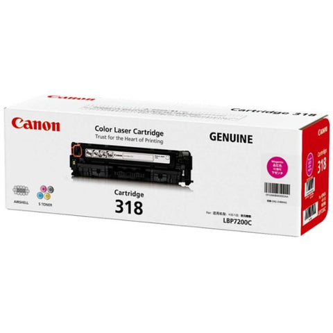Canon CART318 Magenta Toner - 2,400 Pages - Out Of Ink