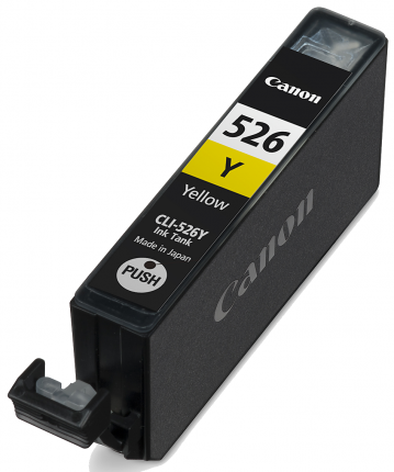 Canon CLI-526 Yellow Ink Cartridge  - 450 pages - Out Of Ink